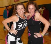 Zumba® at Relay for Life with Kelly P and Nancy O
